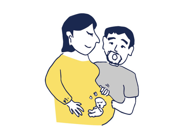 二拠点それぞれのよさを活かした、妊婦生活。