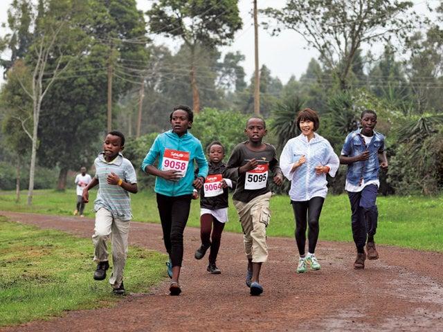 ナイロビでソトコトマラソン2019を開催。アフリカの自然を満喫できるコースをみんなで力走しました