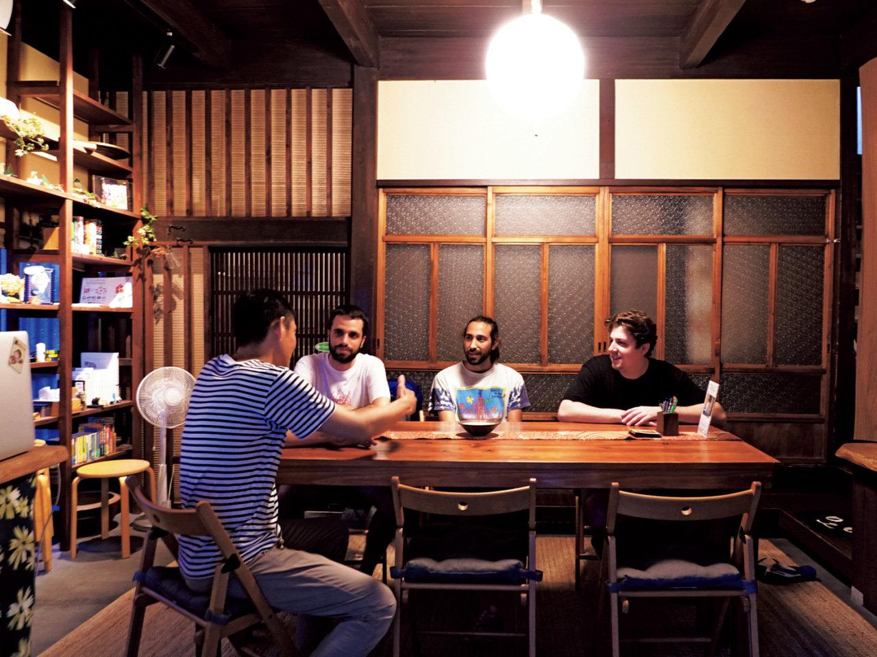「古民家」で世界を旅する。大阪府大阪市