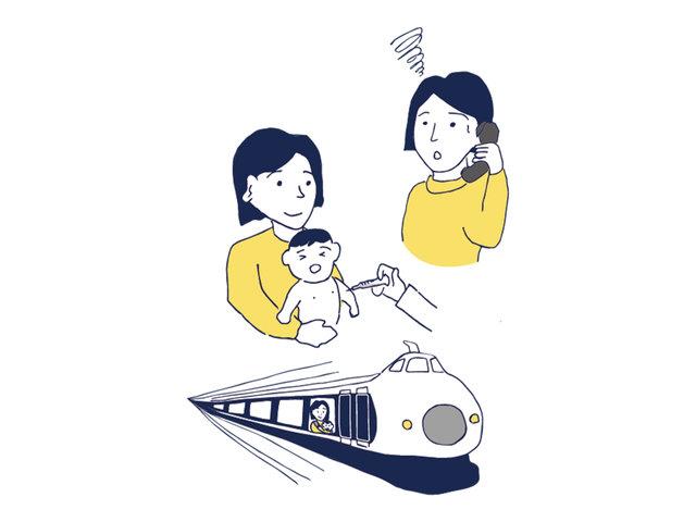 産後の二拠点生活は、赤ちゃんの住民票が要。