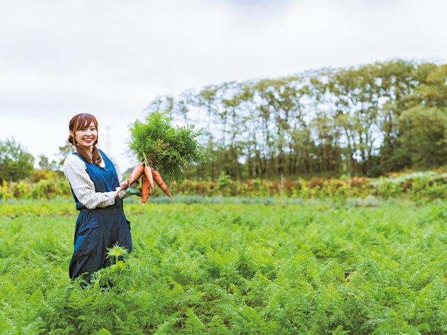 北海道石狩市の若き農業者、只野夢子さんの取り組み。楽しい農業で夢を叶える『YUMEYASAI』。