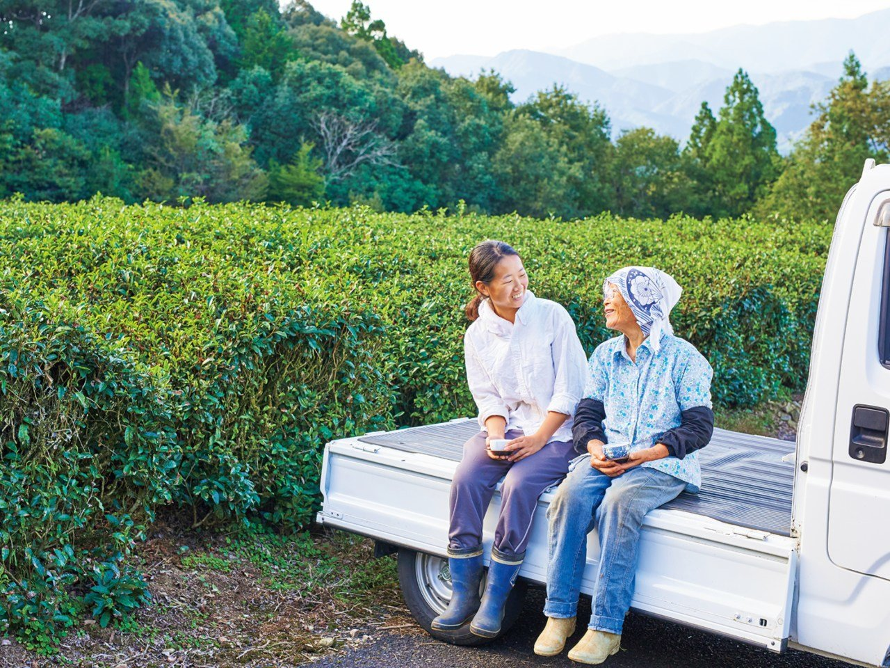 おじいちゃんとおばあちゃんの茶畑を継ぎました。地域の伝統と文化を伝えるなっちゃんの挑戦。