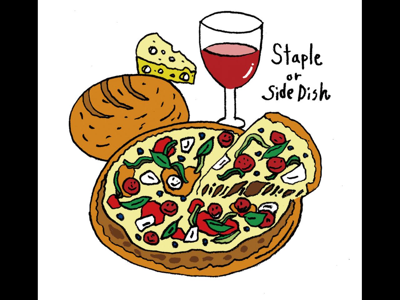 薄焼きか丸型か?食卓におけるパンの役割