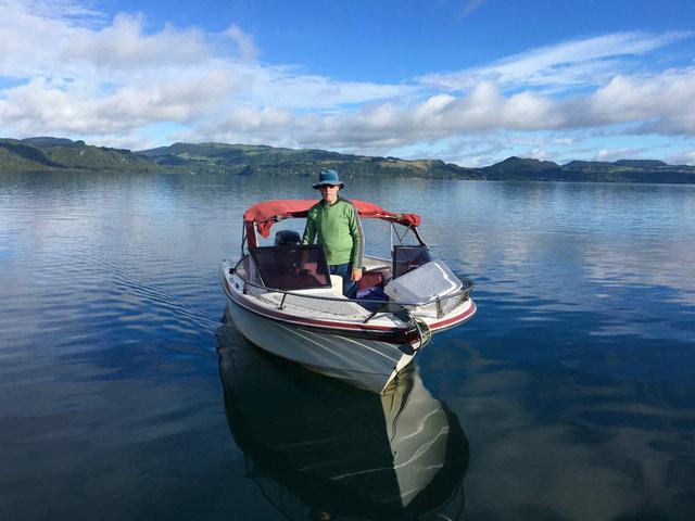 レイクカルチャー❷ 湖一番の釣り人