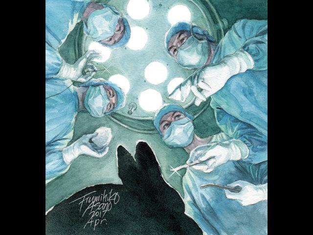 クロウサギの大手術