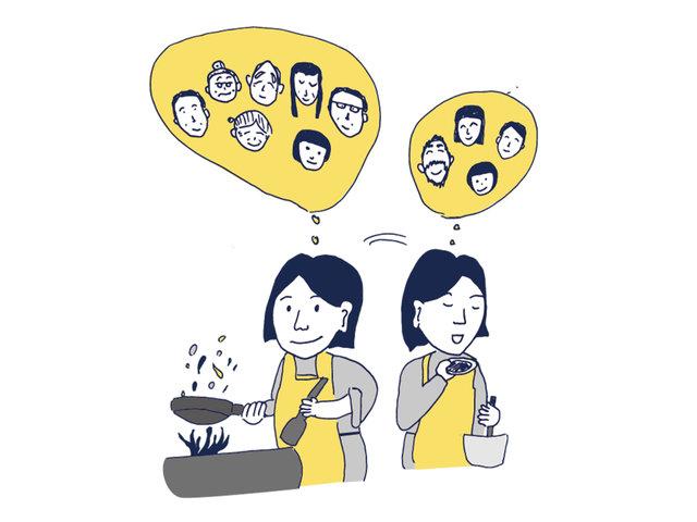 誰とどう暮らすかで異なる、食の制限とこだわりを楽しむ。