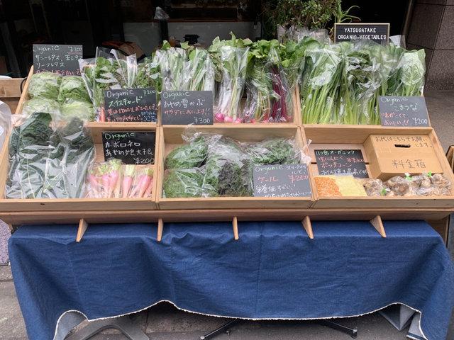 中目黒で野菜の無人販売はじめました!
