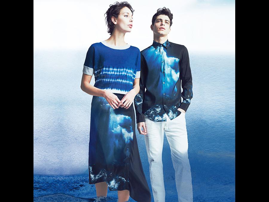 麻は土に還るエコ素材。7ブランドで麻を日本の伝統色で染めたコレクション「麻物語」開催です。