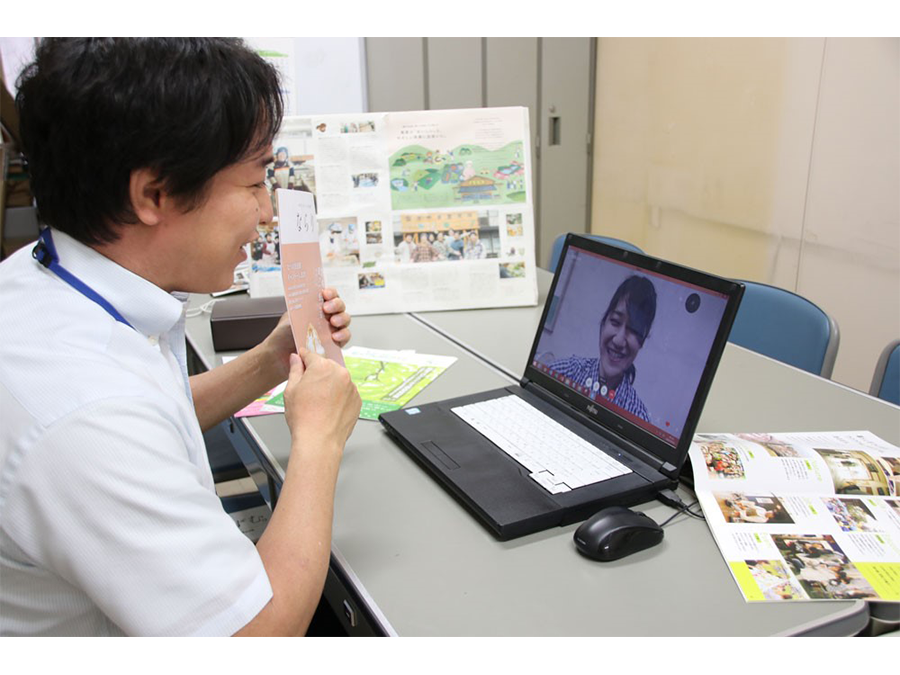 奈良県初!奈良市オンライン移住相談窓口を開設です。