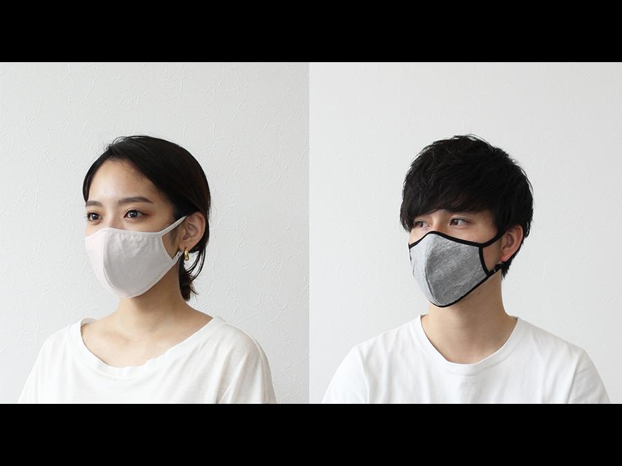 冷たい感触に加えハイブリット触媒®ティオ・ティオプレミアム加工が施された高機能布マスクです。