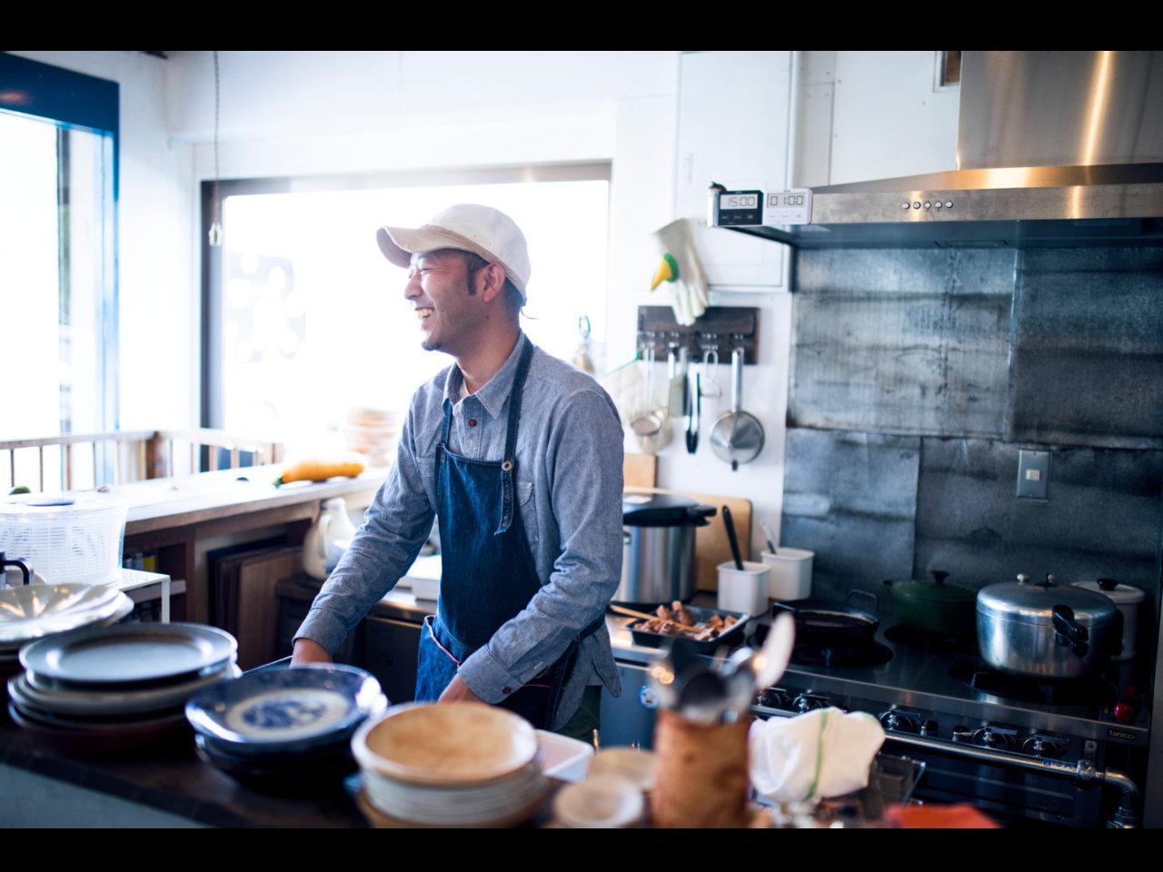 『つむぎや』金子健一さんのお店と料理。『Alps