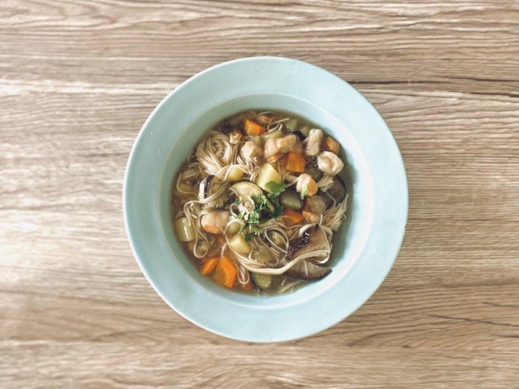 宮城のとろーり温麺「おくずかけ」で夏バテ対策!冷房で冷え冷えの胃腸を温めよう