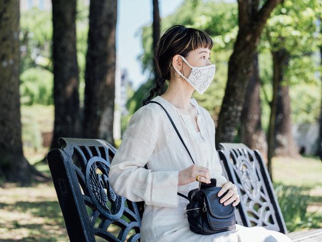 """暑い日でも、明るく快適に""""つけたいマスク""""へ。日常を彩る「アートマスク」に込めた思い。"""