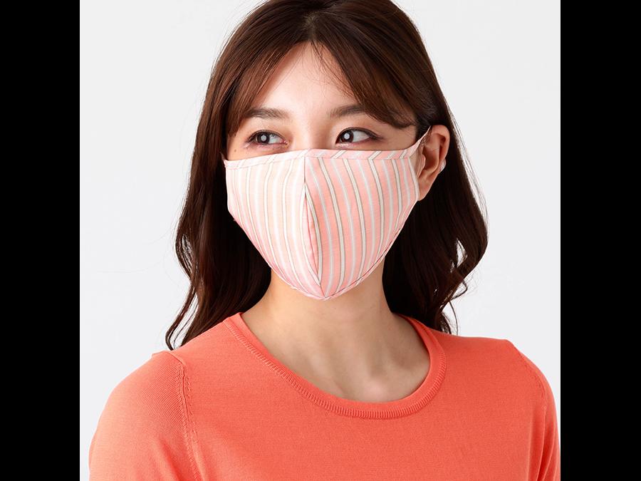 新たに9種類の色・柄が登場。色や柄でコーディネートを楽しめるオリジナル布製マスク第3弾です。
