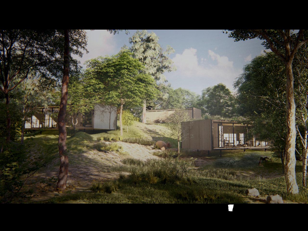 ライフスタイルブランド「SANU」が提案する、自然の中にもう一つの家があるライフスタイル。