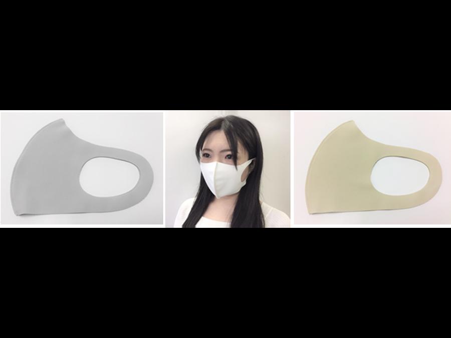 1枚398円。つけた瞬間ひんやり&ムレにくい「洗って使えるフィットマスク」に新色登場です。