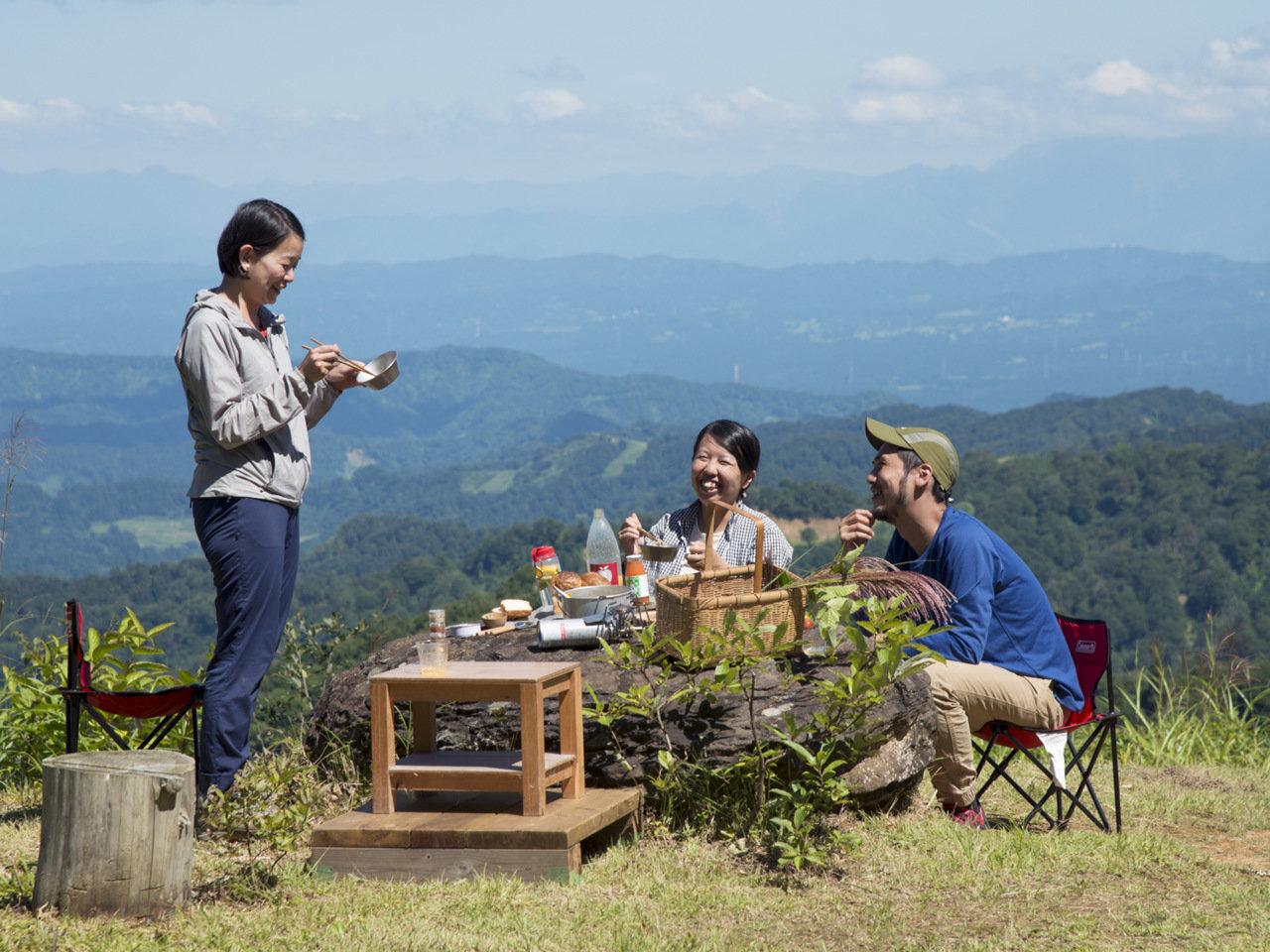 背景にある物語を知ることで広がる食の世界。料理家・蓮池陽子さんに習う、山ごはんの楽しみ方。