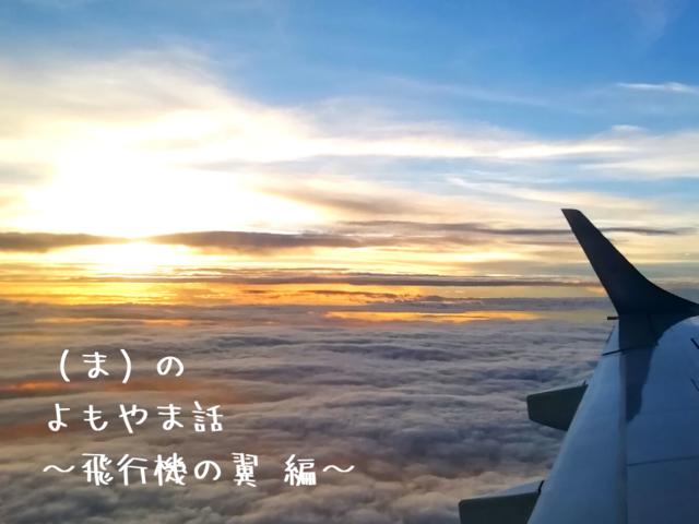 (ま)のよもやま話 〜飛行機の翼編〜