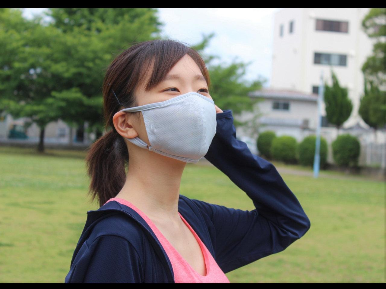 1枚1960円。夏向けメッシュマスク「ecomasさらさらメッシュ夏マスク」一般販売スタート。
