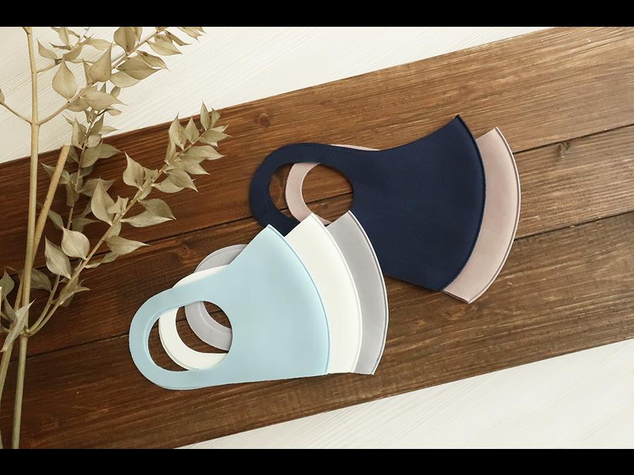 洗って繰り返し使える「クールマスク」3枚330円で大人サイズの新色やこども用サイズが新登場です。