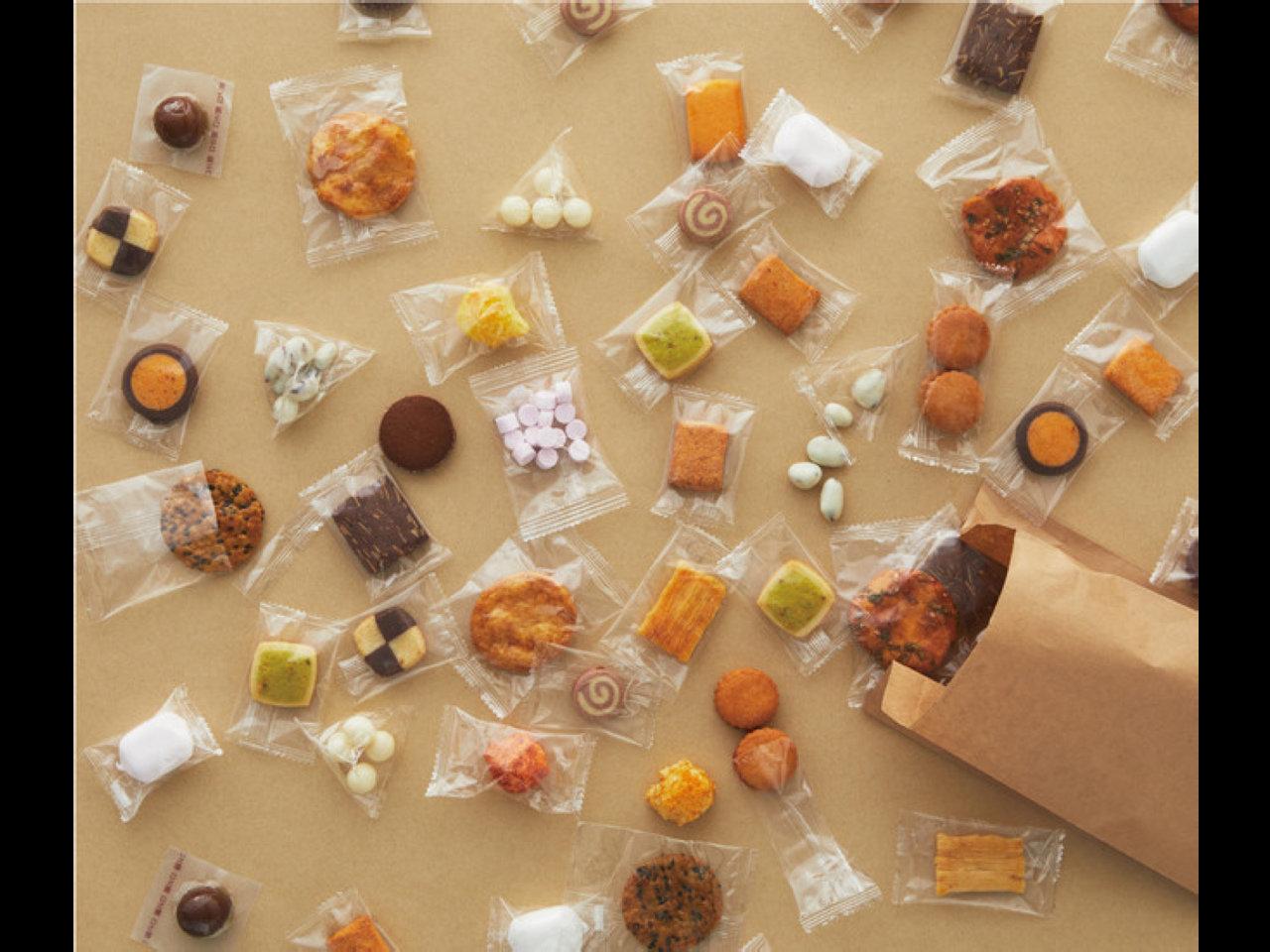 ひとりひとりに、ちょうどいい。無印良品がお菓子の量り売りを9月16日より開始します。