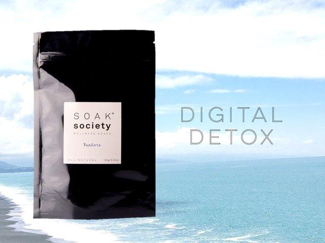 デジタルデトックスができる「ソークソサエティ」で美容浴!