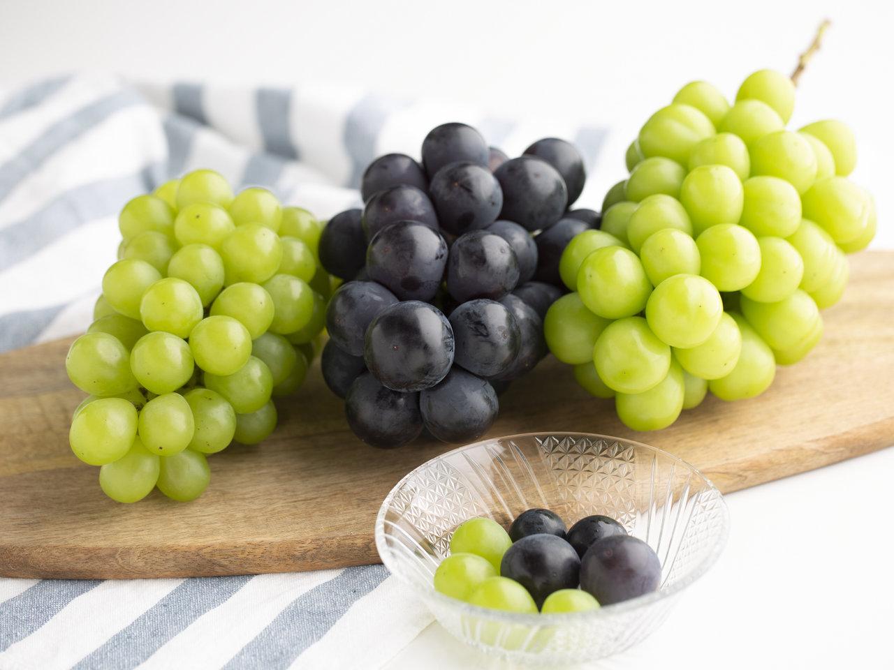 種類豊富な岡山のぶどうを食べくらべ。たくさんある時の簡単レシピも紹介
