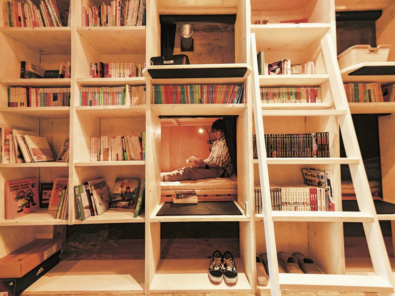 本、そしてまちとの接点になるゲストハウス『BOOK