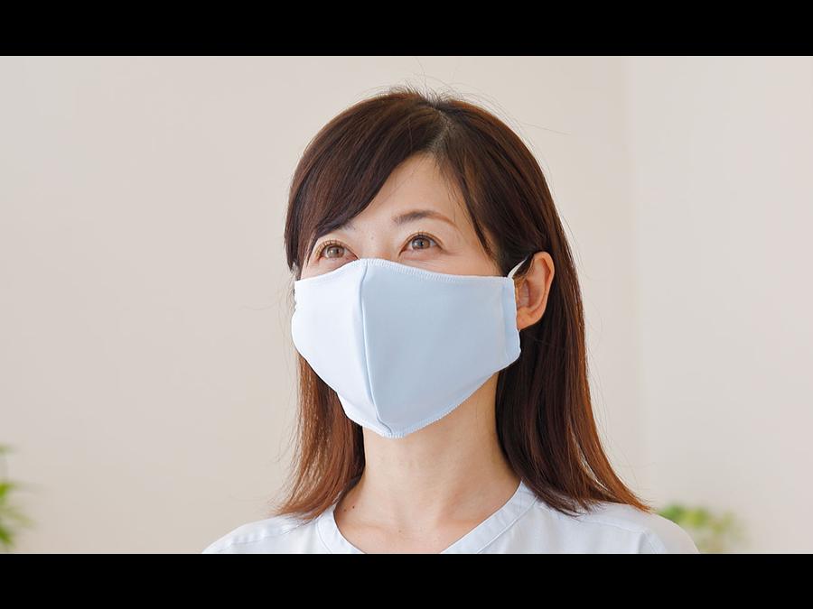 """1枚1320円。枕が人気の「王様シリーズ」から、さらさら肌触りの""""快適""""なマスクが新登場。"""