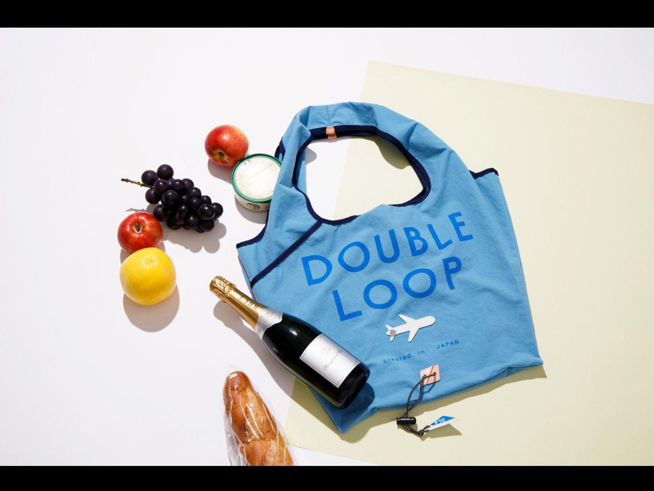 DOUBLELOOPの職人が本気で挑んだ。いつでもどこでも使い回せる新感覚「万能マイバッグ」誕生