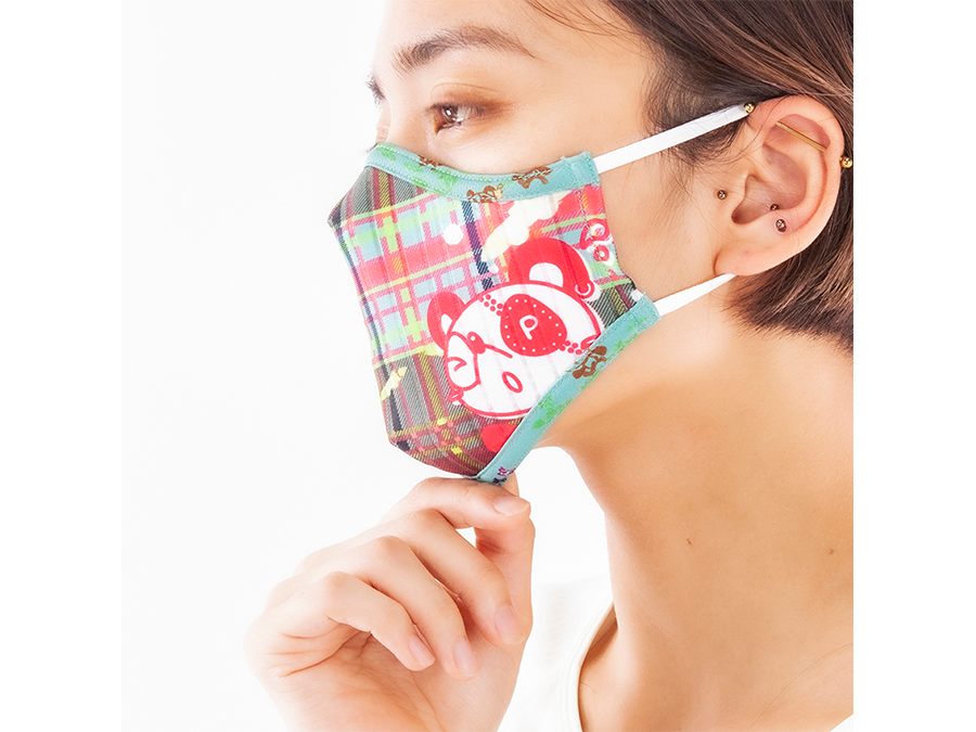 1枚2178円。イタリア製高級スポーツ生地で作る高性能マスク『100デザイン達成!』記念セール中