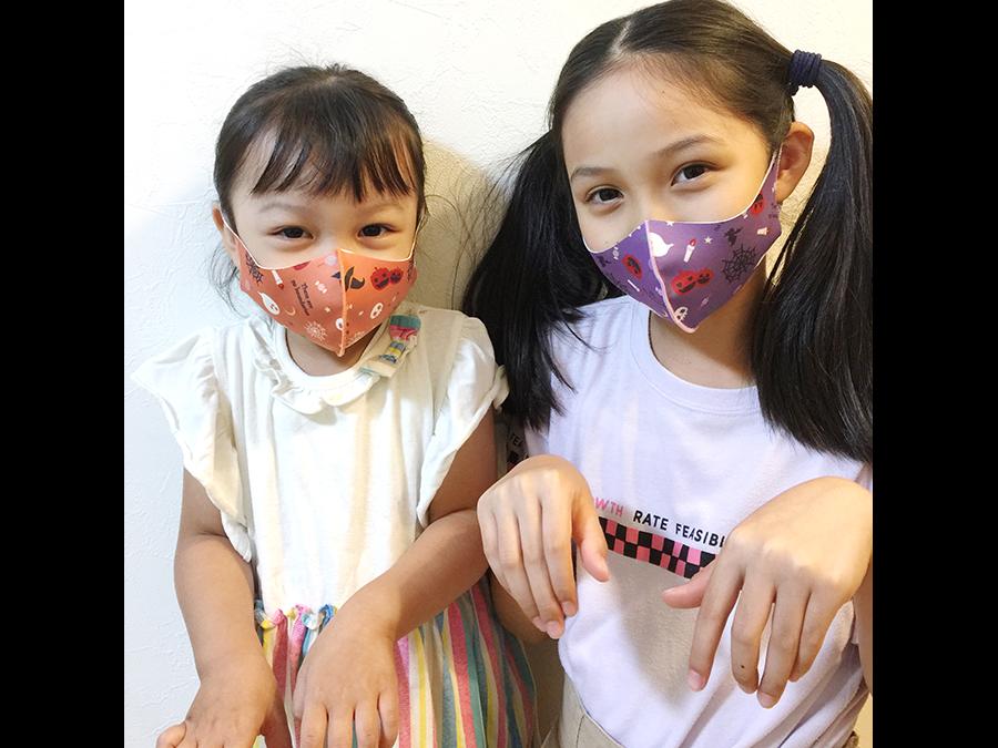 1枚780円〜。「サンリオキャラクターマスク
