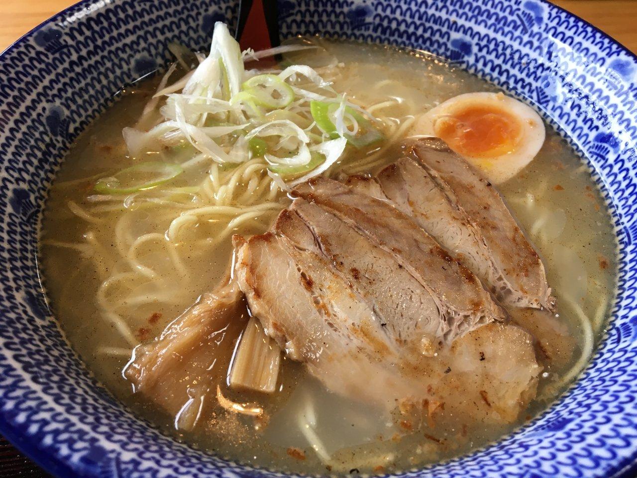 岡山名産・鰆(さわら)の出汁を使った「煮干しラーメン」を食べてみた