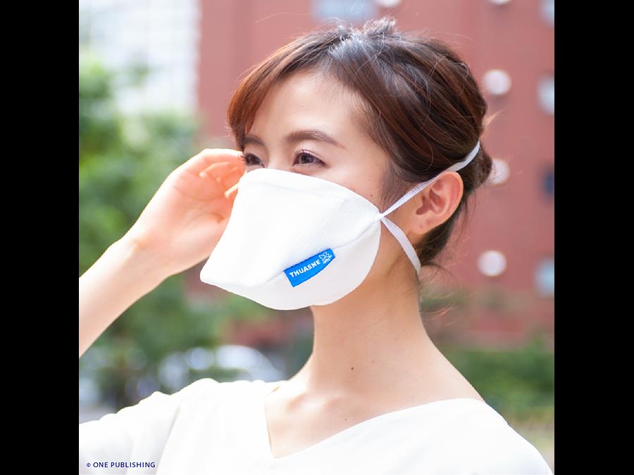 フランスでNo.1の売上を誇る健康衣料メーカーが開発。1枚980円〜。2種類の高性能マスク。