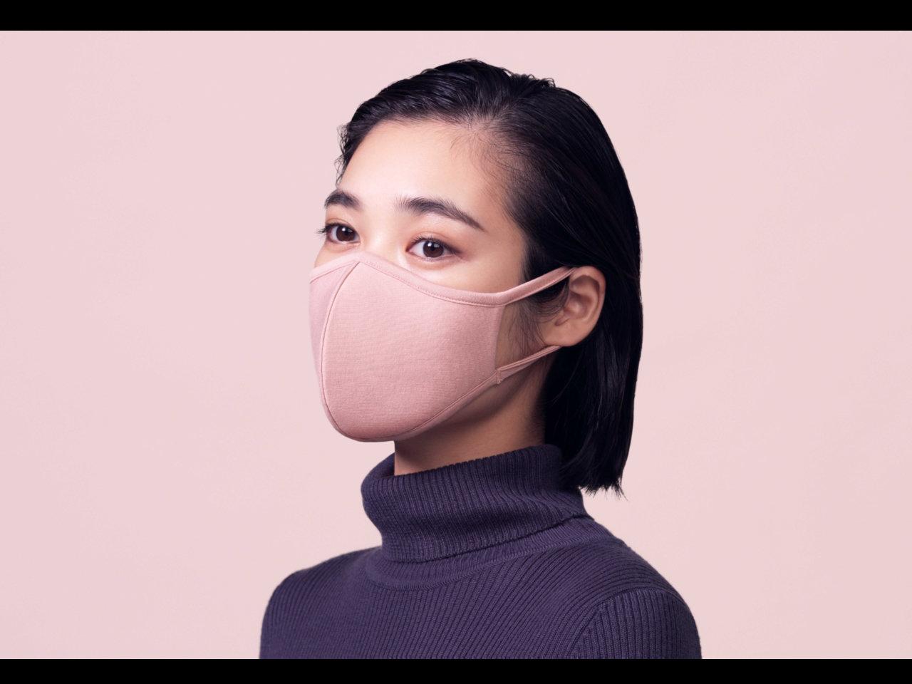 ジーユーから登場。2枚で790円。機能性とファッション性を追求した高機能フィルター入りマスク。