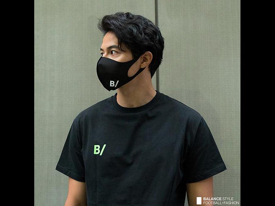 フットボールライフスタイルD2Cブランドから3色のマスクを発売。1枚800円