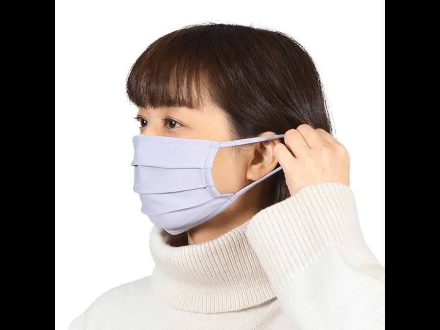 累計30万枚販売『洗えマスク®』の冬用素材マスクを販売開始。2枚1900円。