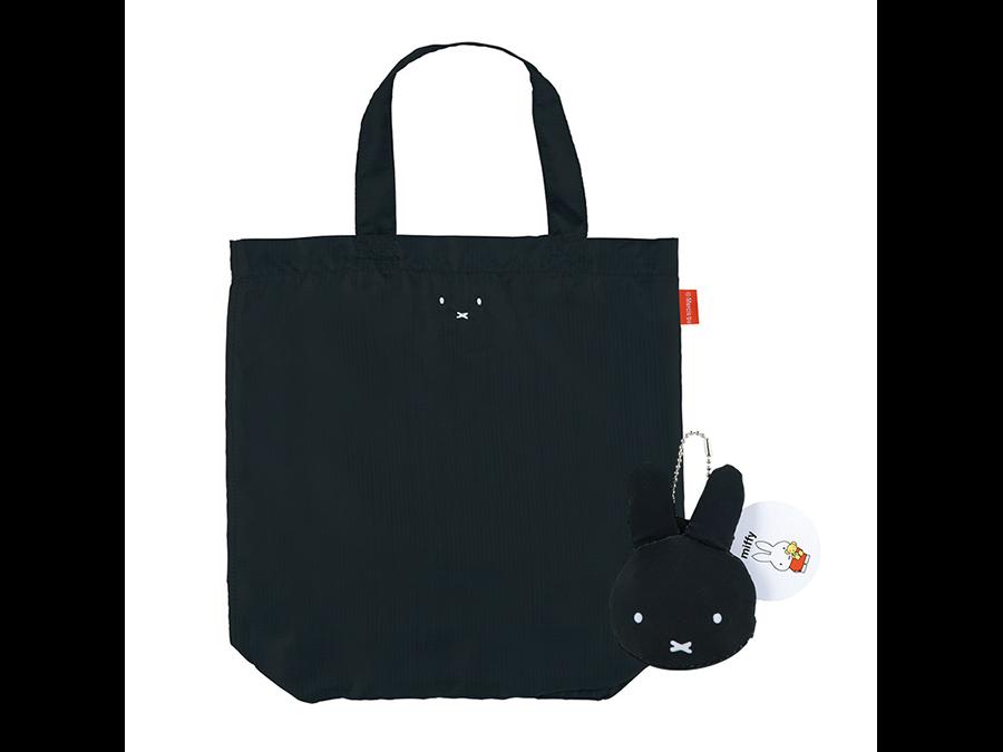 かわいく持ち運べる。カバンに付けてコンパクトに持ち運べるミッフィーのエコバッグ。