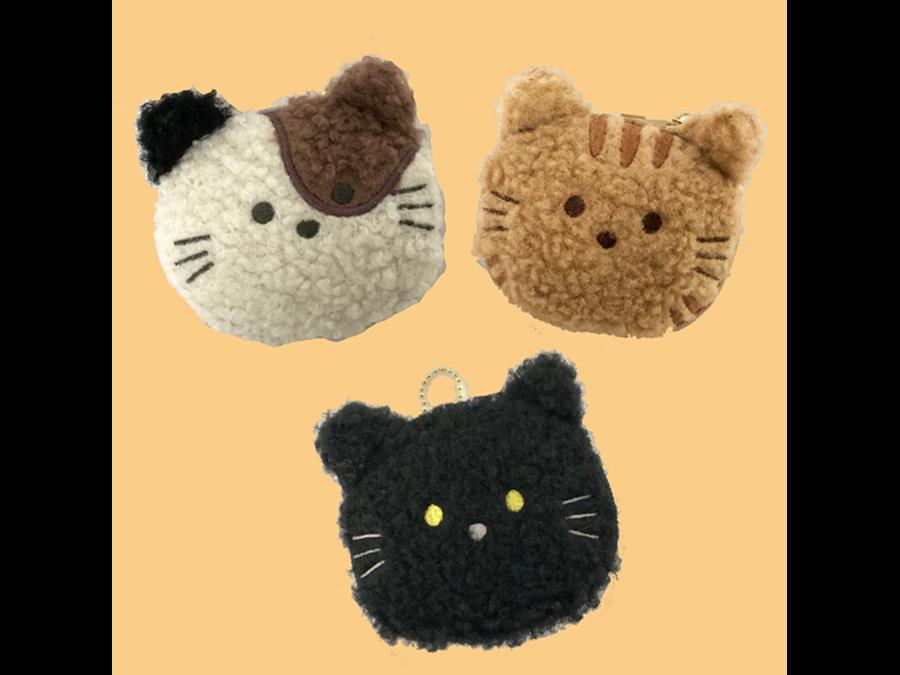 かわいい猫のキーホルダーに収納できるエコバッグがヴィレヴァンオンラインに新登場。
