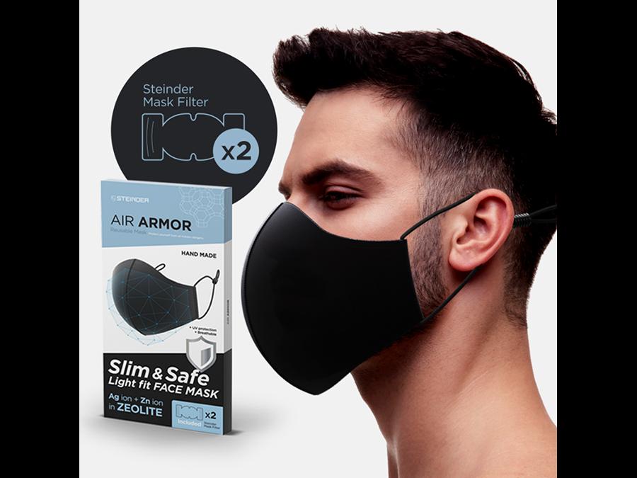 銀と亜鉛イオン配合のZeoliteマスクと光触媒フィルター、マスク1枚2090円〜で発売です。