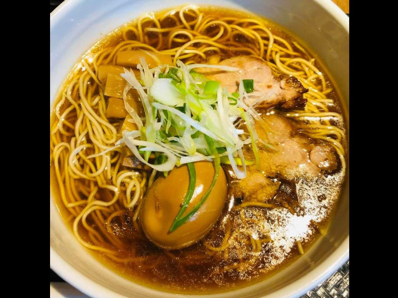 東京ローカルのおいしい醤油ラーメン