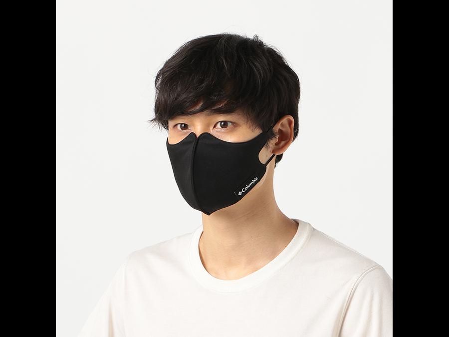 コロンビアから吸湿速乾性と紫外線カット飛沫防止フィルターを備えたマスクが1枚1200円で発売開始