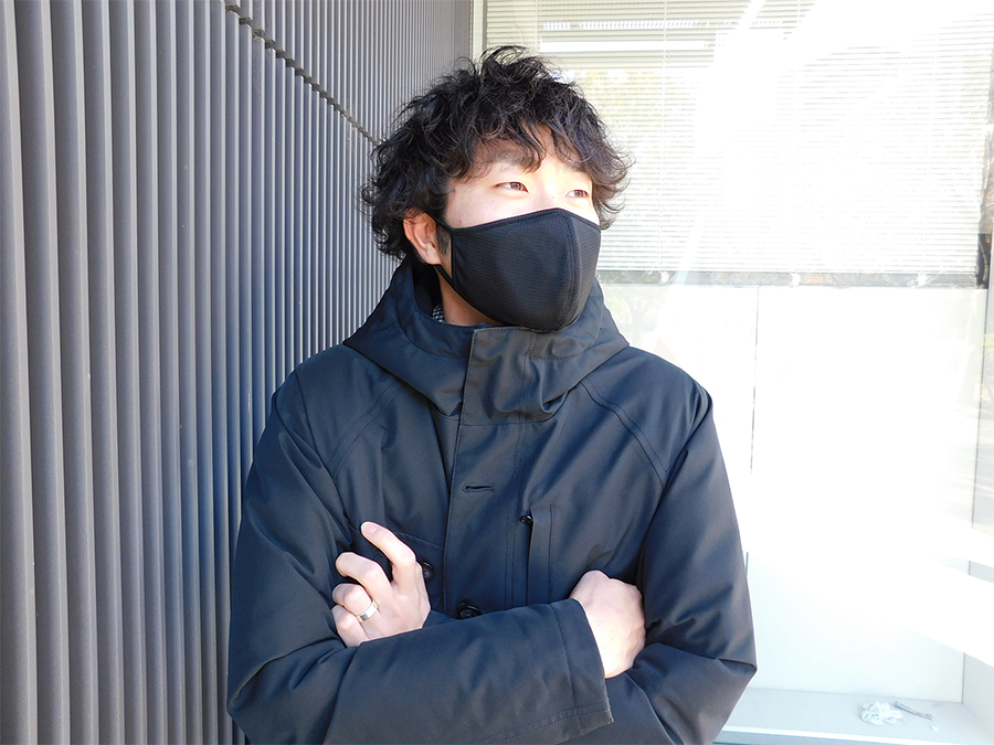 国産マスク第3弾。保湿性に優れ抗菌・防臭と花粉ブロック性能に優れた暖かく冬を越せる日本製マスク。