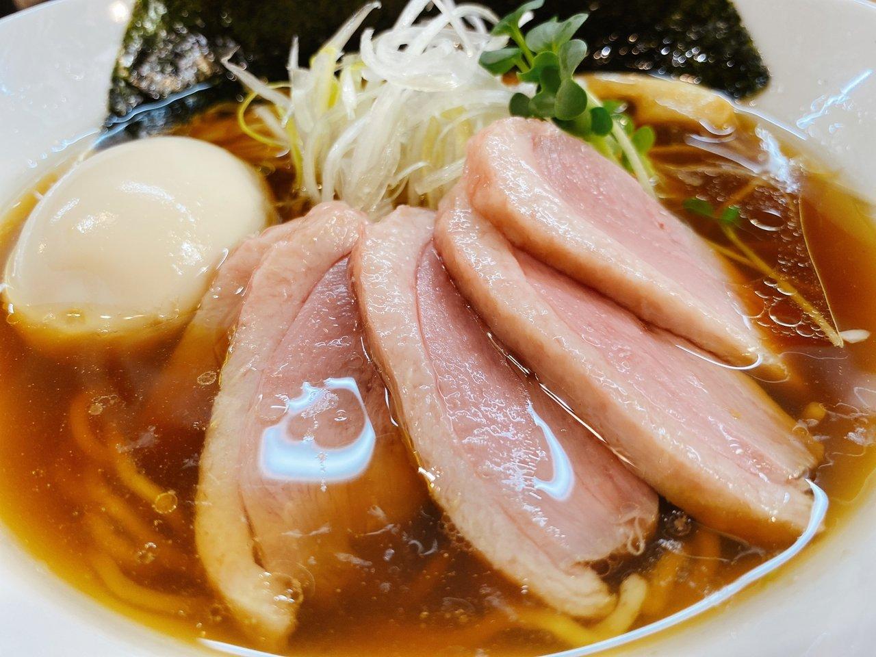 東京ローカルのおいしいラーメンがたべたい 鴨だししょうゆラーメン