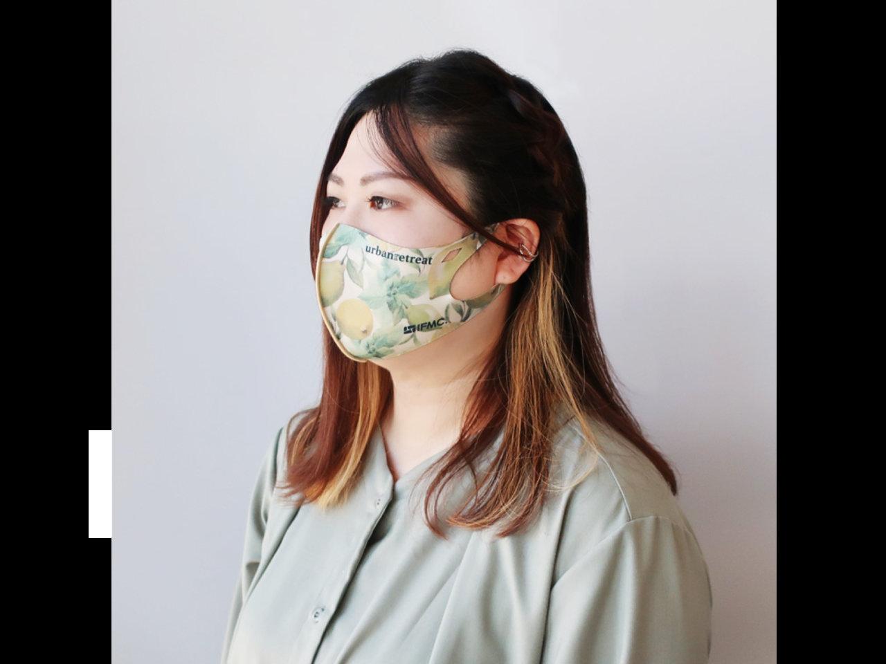 全53種類!特許技術の「イフミック」の加工が施された、繰り返し使えて環境に優しいエコマスクが入荷