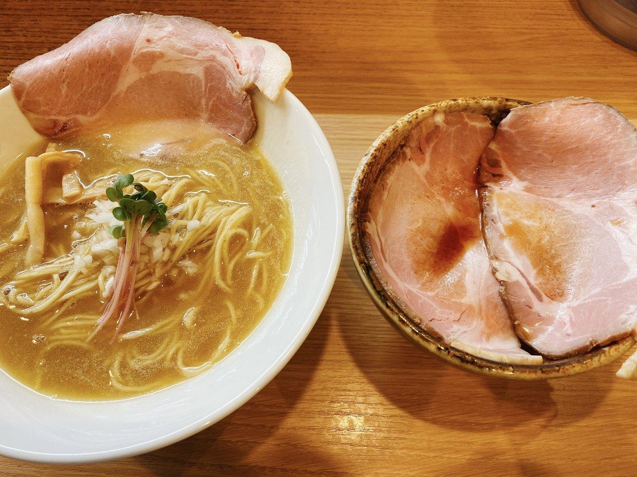 東京ローカルのおいしいラーメンがたべたい|鶏白湯ラーメンとチャーシュ丼