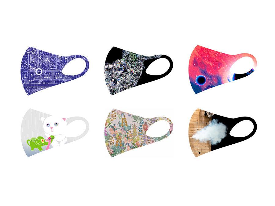 6名の現代アーティストとのコラボレーションマスクを新たに発表。店頭・オンラインで販売開始。