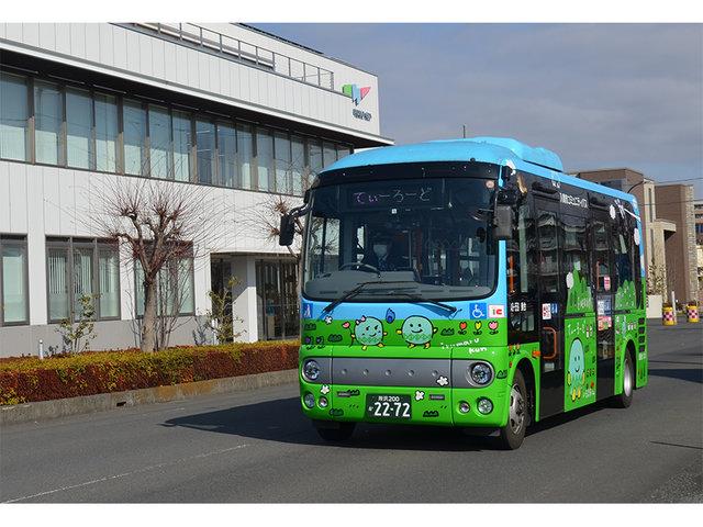 国内初!埼玉県入間市コミュニティバスにネーミングライツを導入。