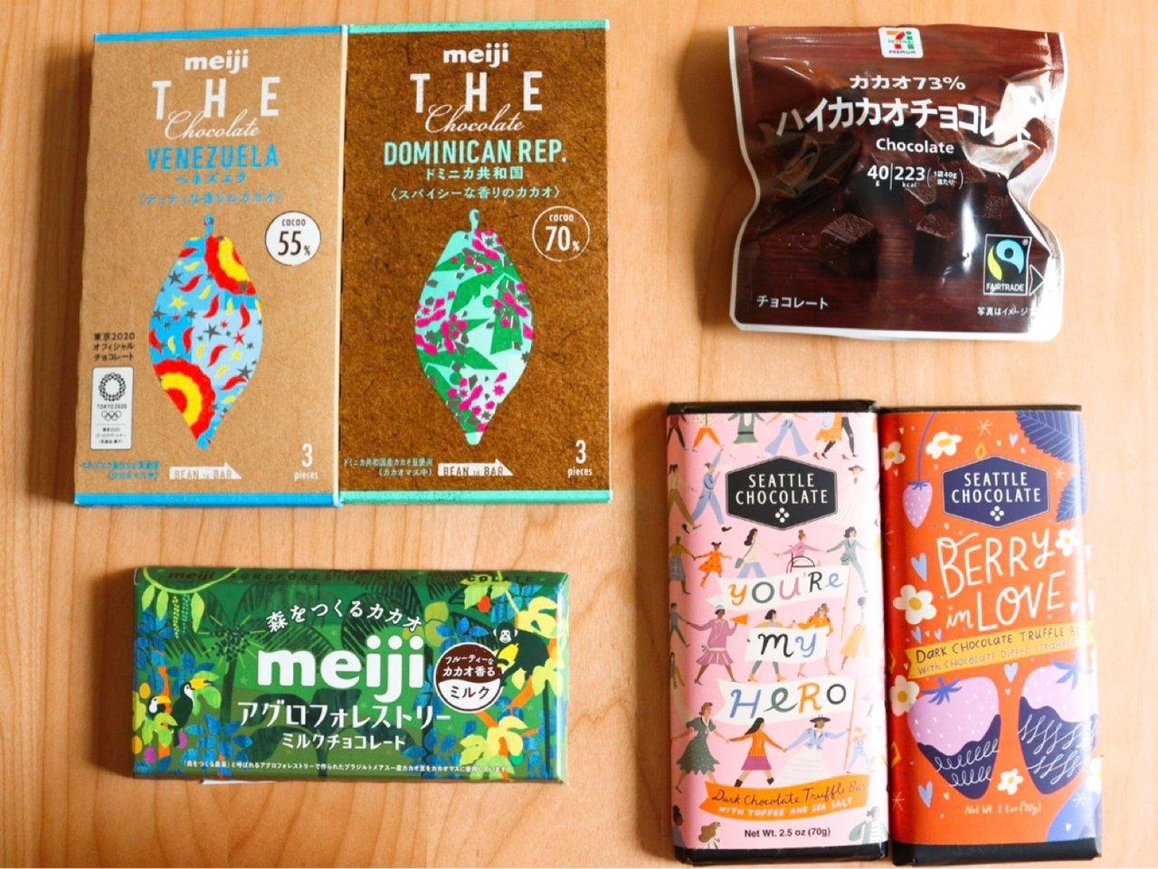 地球にやさしい、今話題のサステナブルなチョコレートって?コンビニやカルディで買える商品をご紹介