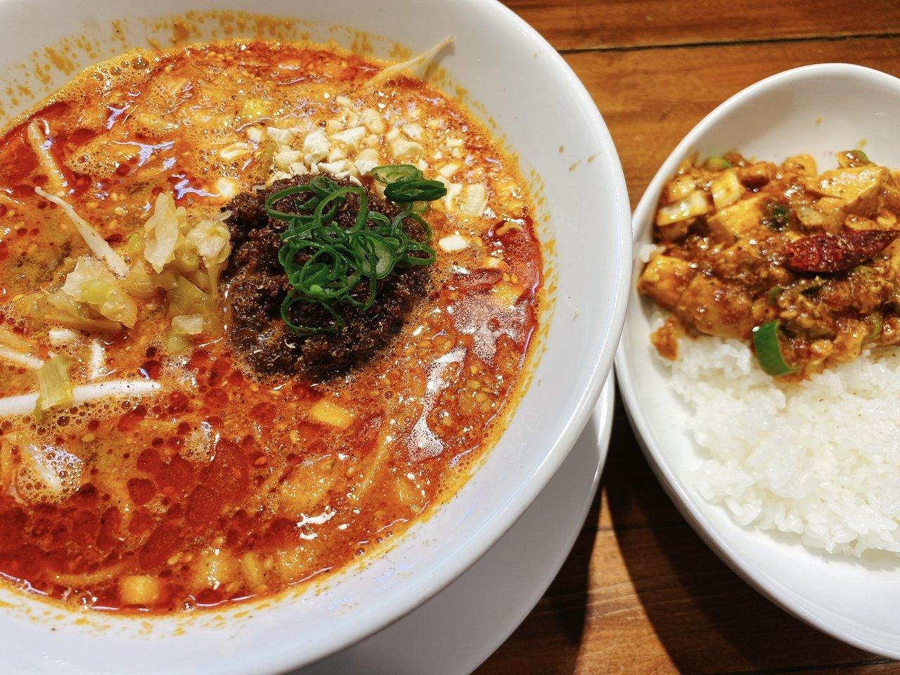 東京ローカルのおいしいラーメンがたべたい|担々麺と小麻婆飯